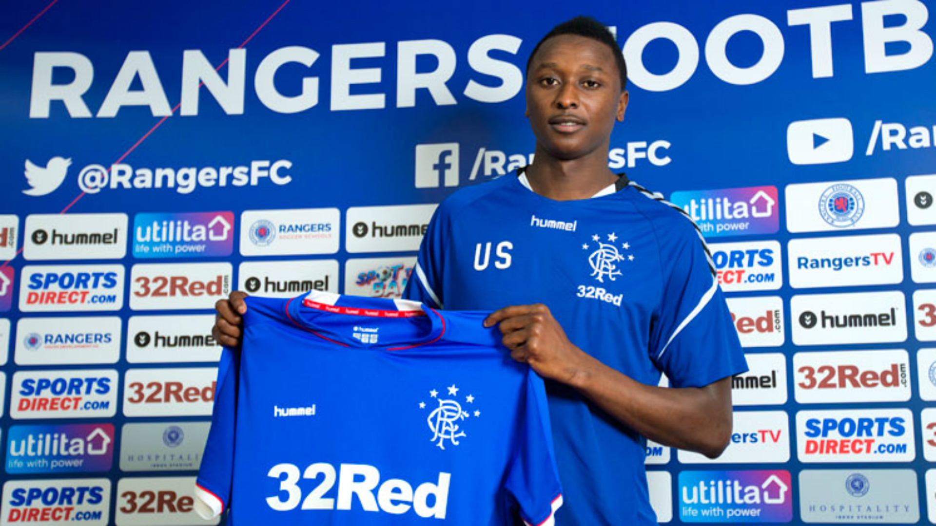 Umar Sadiq joins Rangers on loan from AS Roma