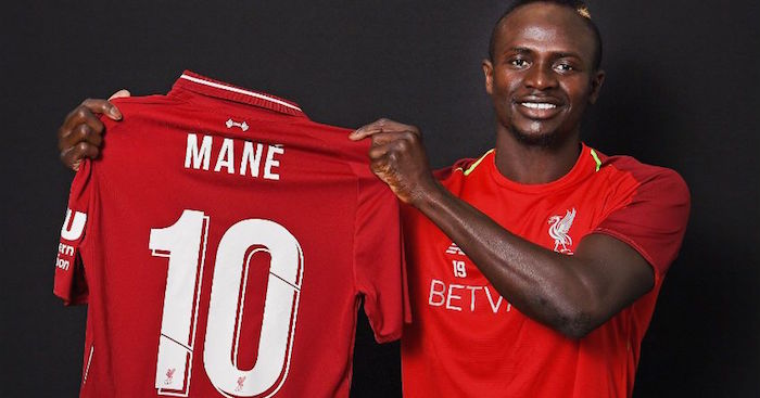 Sadio Mane is Liverpool's new Number 10