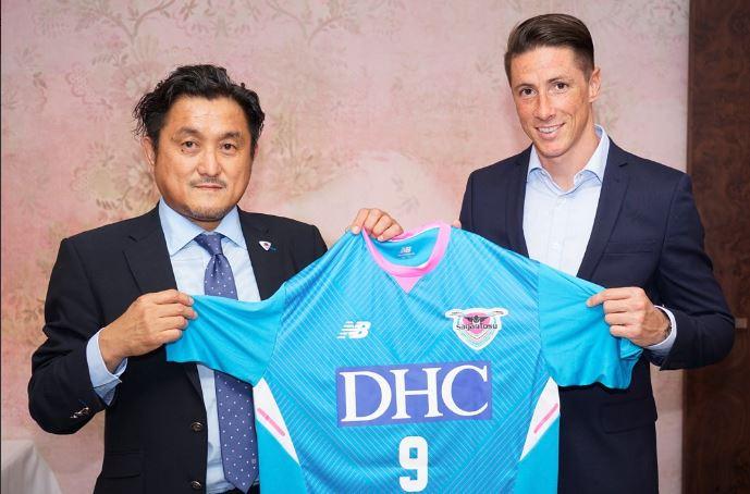 Fernando Torres joins Japanese side Sagan Tosu