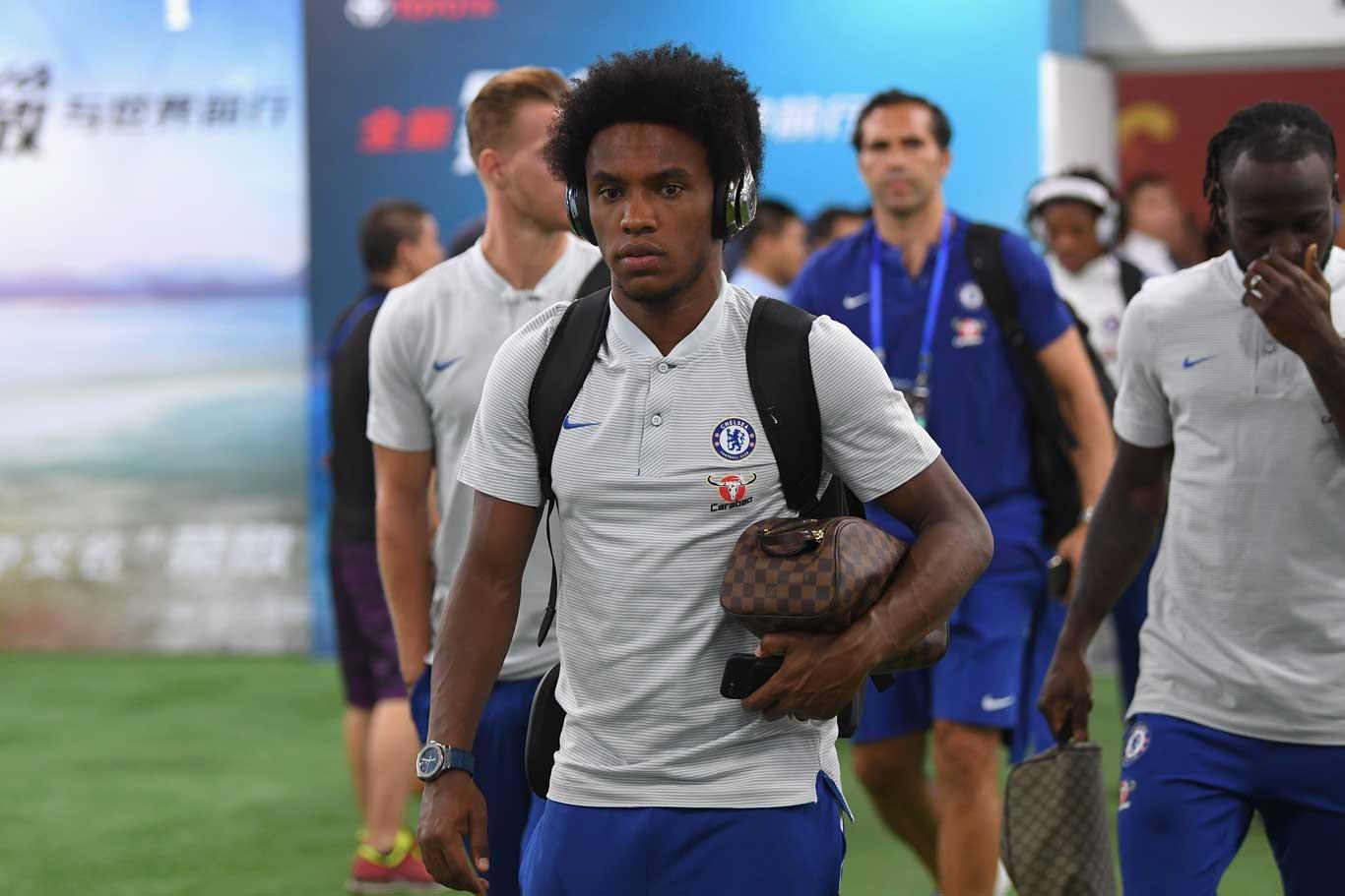 Willian to Madrid? Brazil star fails to Report for Chelsea Pre-Season training
