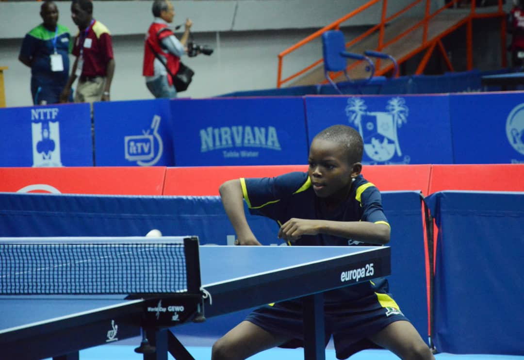 ITTF Nigerian Open: Mustapha brothers undaunted by big stage