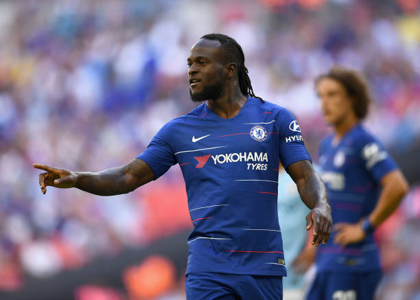 Moses hopeful of a starting place for Chelsea against Arsenal