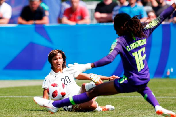 Desire Oparanozie hails Falconets despite 0-1 defeat to Germany