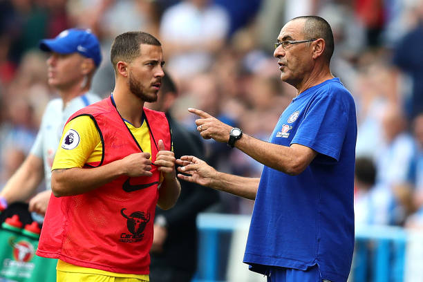 Maurizio Sarri certain Hazard is staying at Chelsea