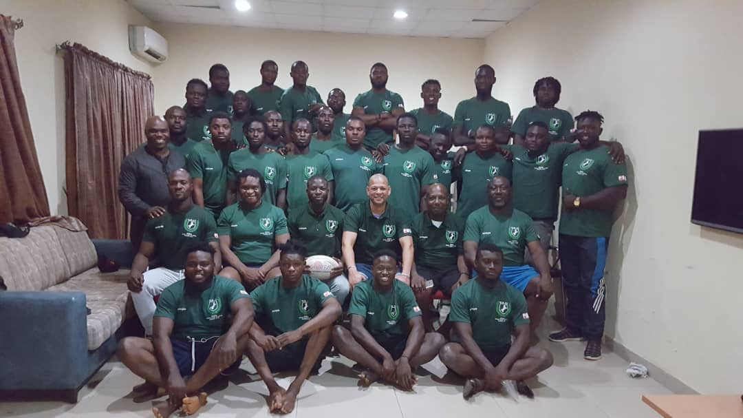 Nigeria Rugby team off to Niger with a strong 31-man contingent