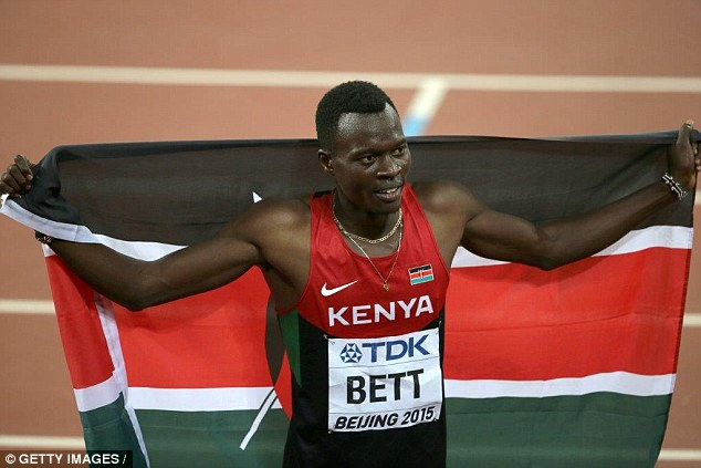 Kenyan 400m hurdles world champion Nicholas Bett dies in car crash