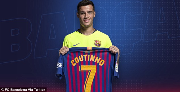 Philippe Coutinho is Barcelona's New Number 7