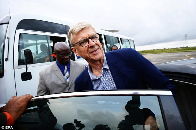 Wenger in Liberia to receive Country's highest honour from President George Weah