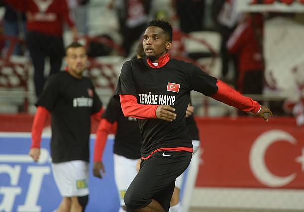 At 37! Samuel Eto'o joins Qatar Sports Club
