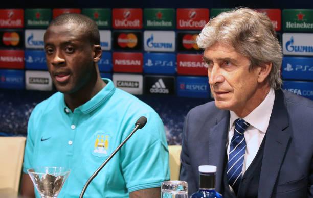 Manuel Pellegrini rules out West Ham move for Yaya Toure