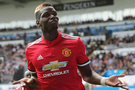 Man United reject Barcelona's bid to sign World Cup winner Pogba