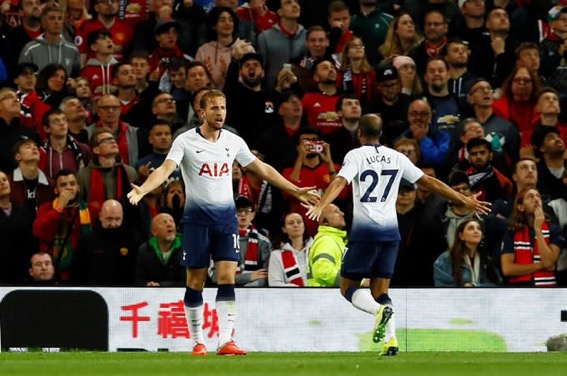 Lucas Moura scores twice to pile more pressure on Mourinho's Man United