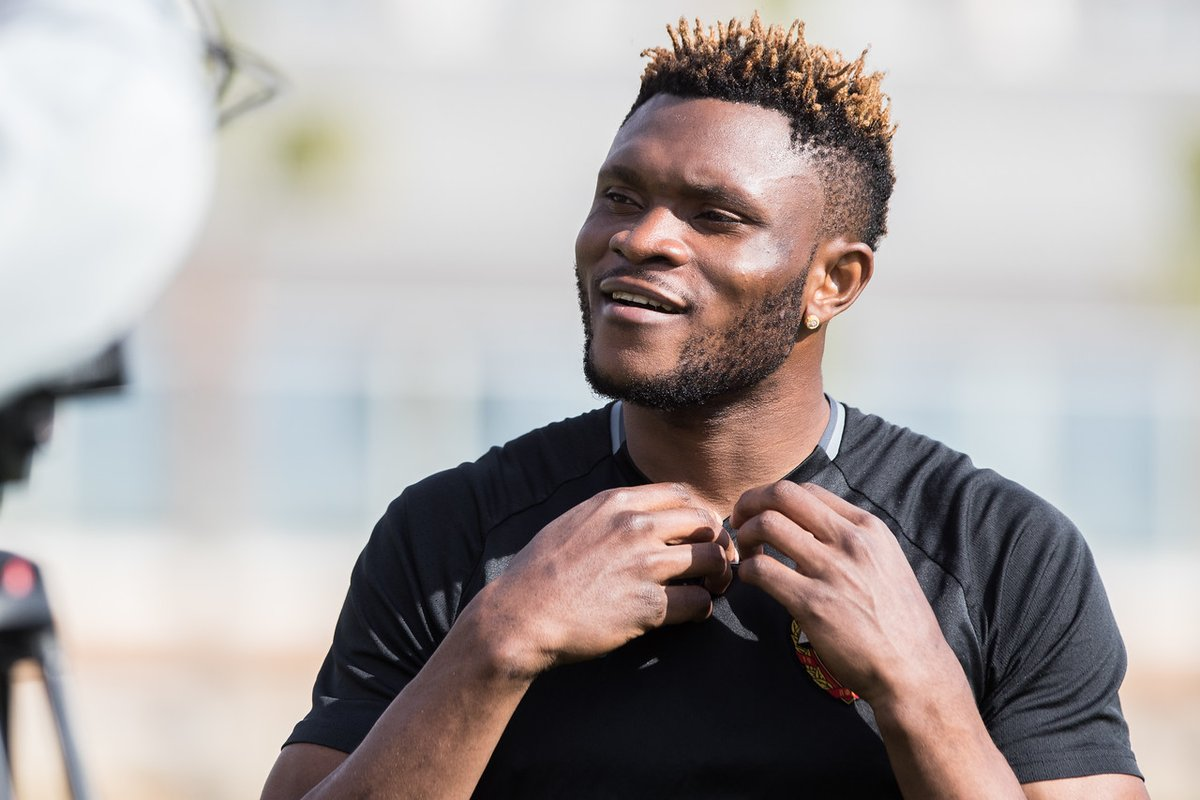 Super Eagles Striker Aaron Samuel leaves CSKA Moscow on mutual consent