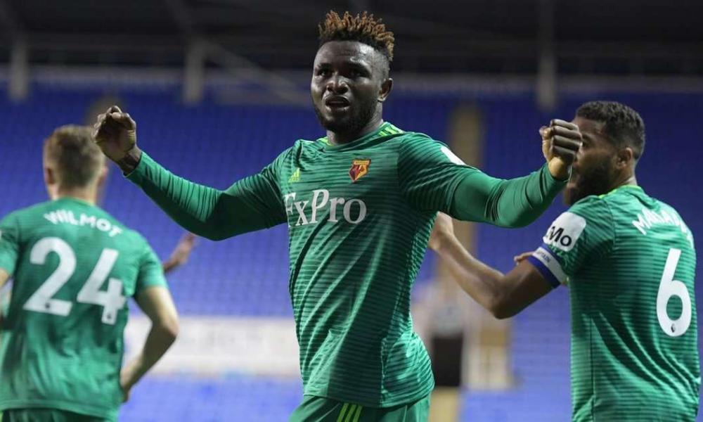 Isaac Success' goal lifts Watford into Carabao Cup third round
