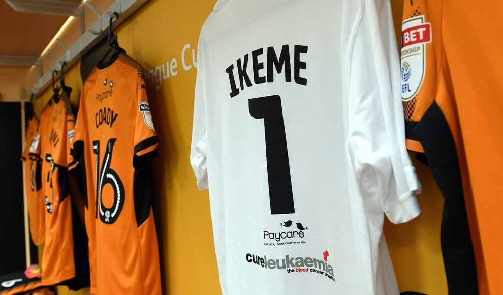 Wolves retire No.1 shirt in tribute to retired Eagles Keeper Carl Ikeme