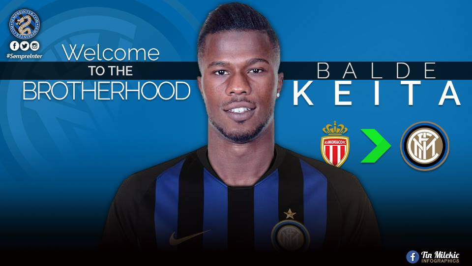 Senegal World Cup star Keita Balde joins Inter Milan from Monaco