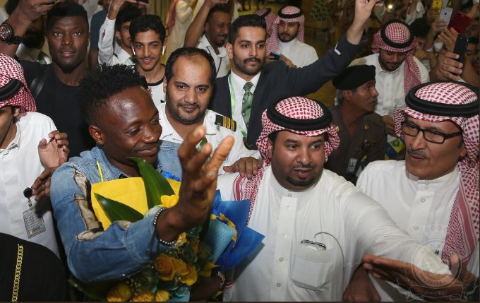 Ahmed Musa given Hero's welcome as he arrives in Al Nassr