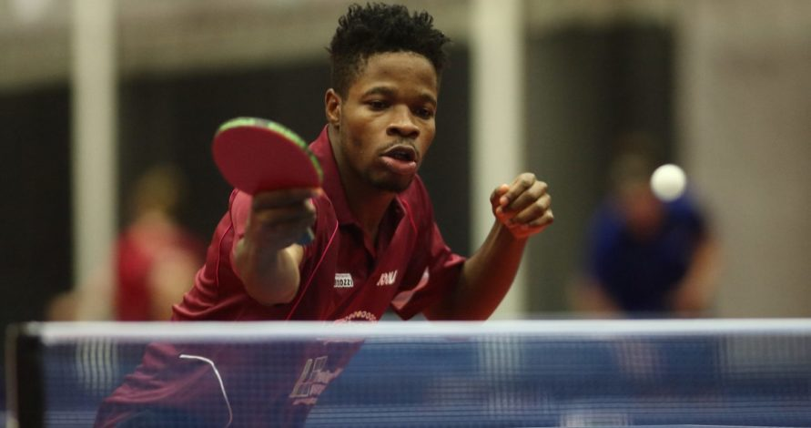 ITTF Nigerian Open: I'm under no pressure to deliver, Says 20th seed 'Jide Omotayo