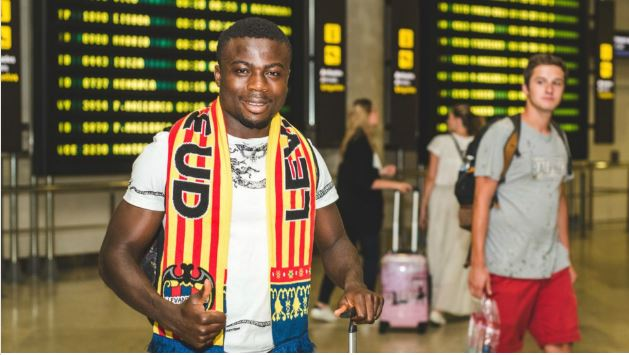 Levante UD New boy Moses Simon sends 'thank you' message to KAA Gent