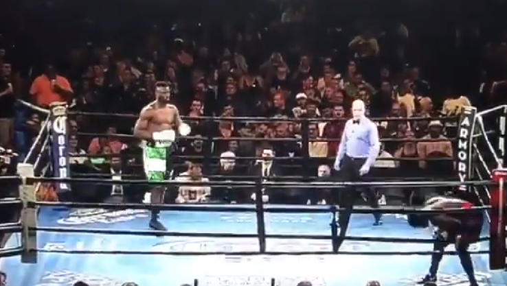 Real Reason American Boxer Fled from Efe Ajagba
