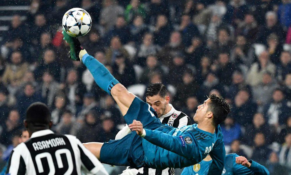 Ronaldo's overhead kick vs Juventus wins Goal of the Season