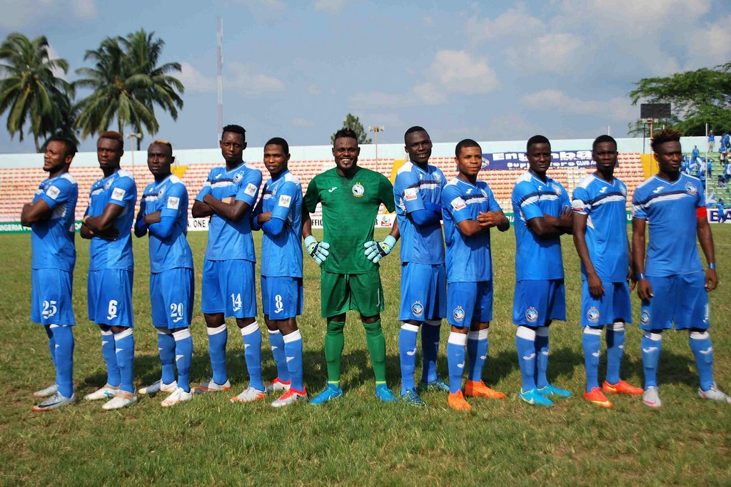 CAF CC: Enyimba's Austin Oladapo confident ahead of Cara Brazzaville clash
