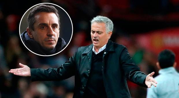 Mourinho must stay, Says Man United Legend Gary Neville