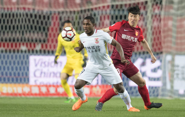 Goal No.14! Ighalo becomes Chinese Super League highest goal scorer