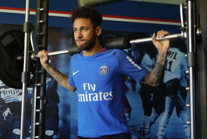 Neymar is back! Brazil star returns to PSG for China tour
