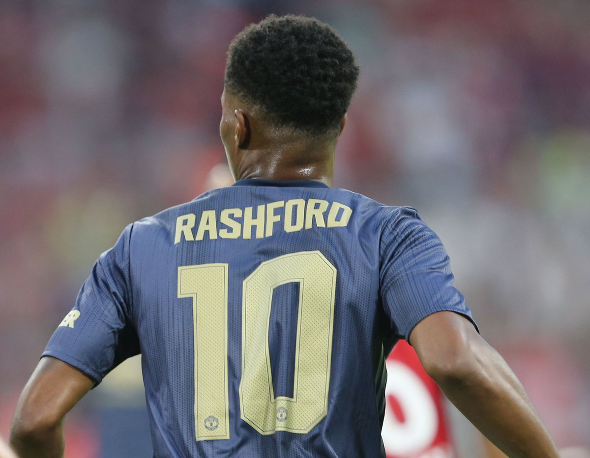 Rashford is Manchester United's new No. 10