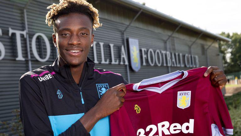 Tammy Abraham joins Aston Villa on Loan