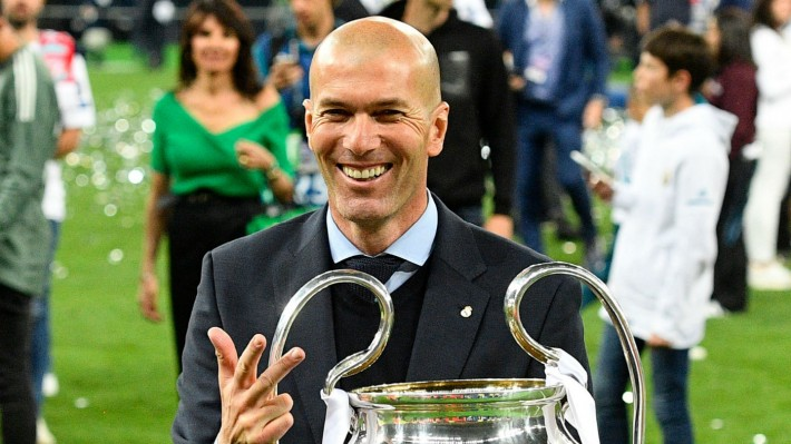 Zidane wants to replace Mourinho as Man United Manager
