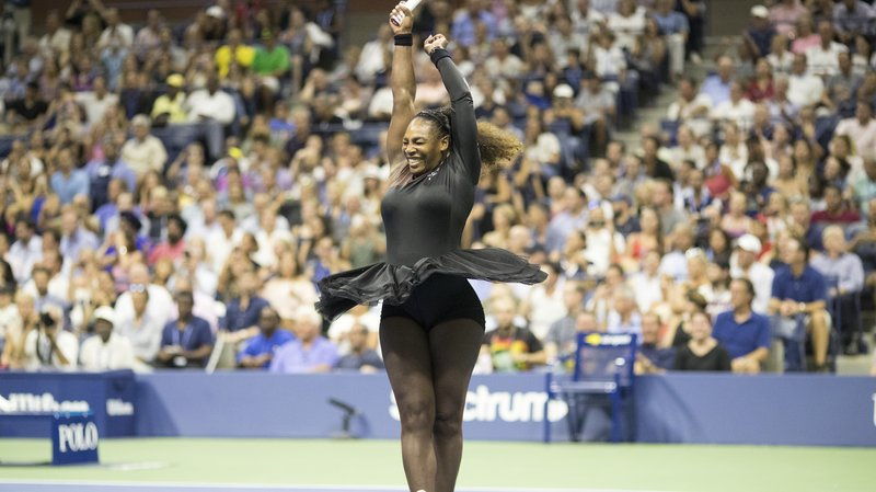 Serena Williams through to her 13th US Open semi-final