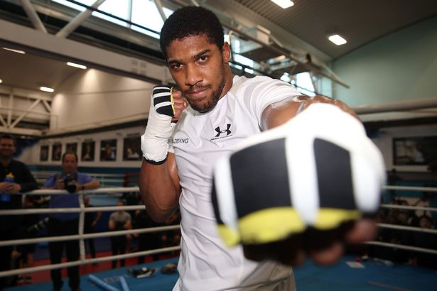 Joshua won't be at the ringside for Wilder-Fury fight, Says Hearn
