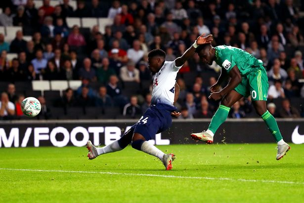 Isaac Success shine despite Carabao Cup loss to Spurs