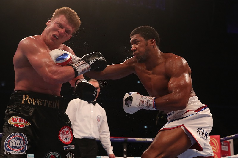 Anthony Joshua retains heavyweight titles with Knockout win over Povetkin