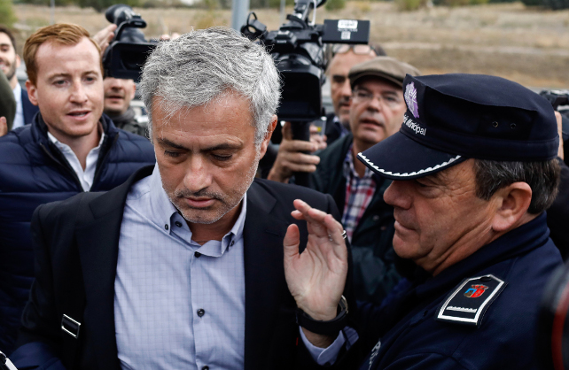 Spanish Tax Fraud: Jose Mourinho accepts One year prison sentence