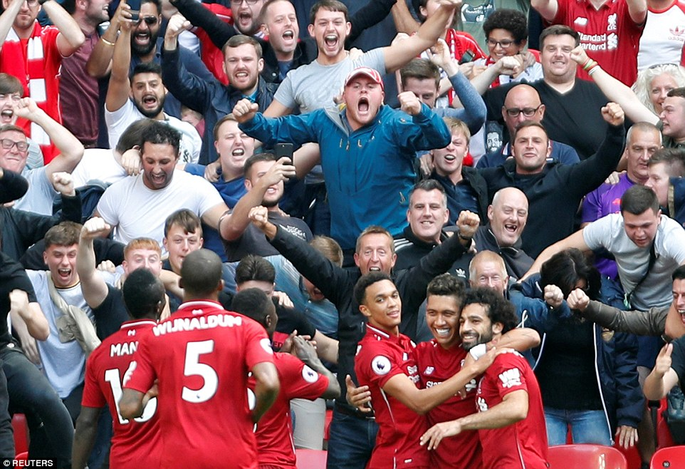 Tottenham 1-2 Liverpool: Wijnaldum and Firmino fire Reds to victory at Wembley