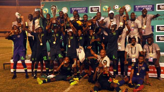 Golden Eaglets beat Ghana 3-1 on penalties to qualify for Tanzania 2019