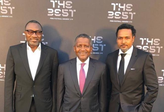 Why Aliko Dangote and Femi Otedola attended the FIFA 'Best' awards in London