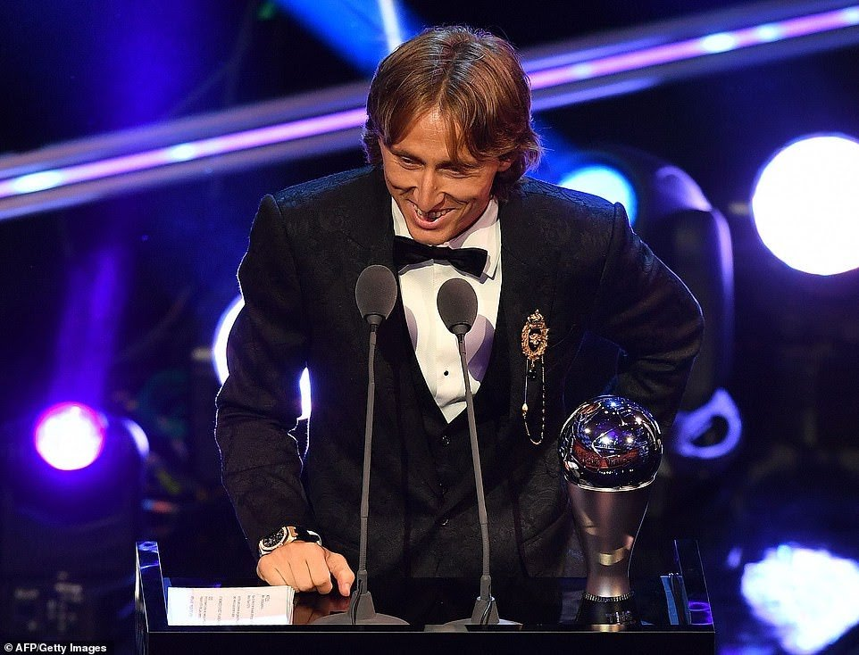 Luka Modric beats Ronaldo and Salah to FIFA Best  Award