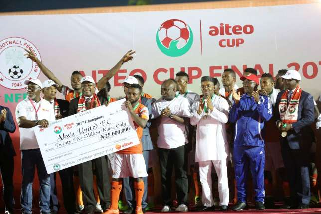 NFF releases 2019 Aiteo Cup Time-table