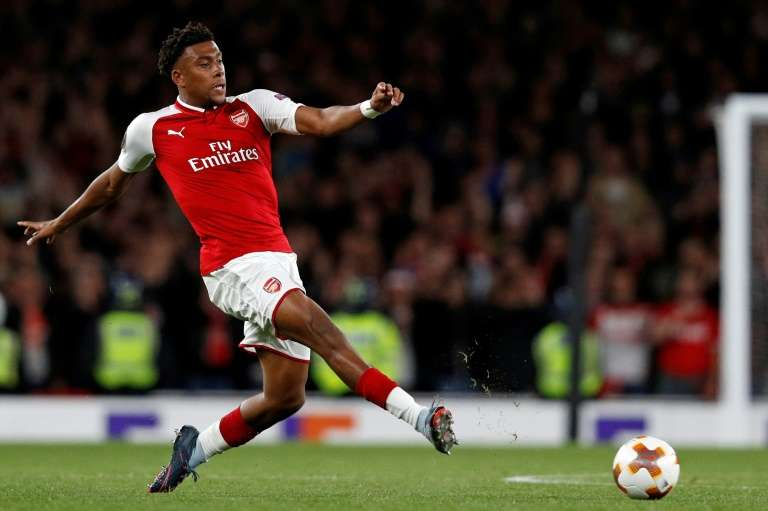 Iwobi in Lacazette out Arsenal's line-up vs Liverpool