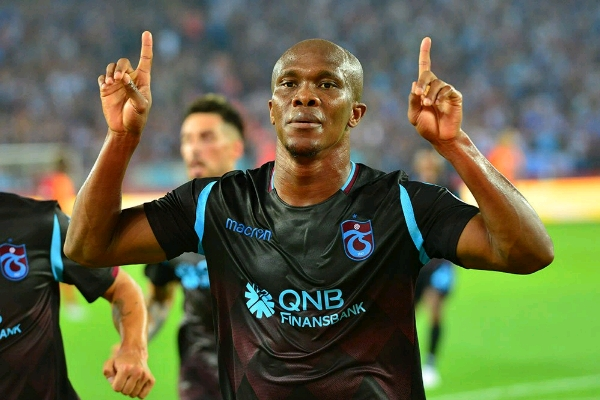 Nwakaeme makes it 4 goals in 3 matches for Trabzonspor