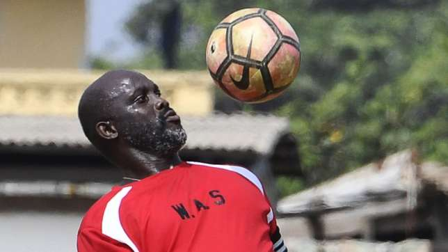 There is another Ballon D'Or winner in Africa, says George Weah