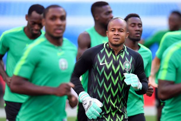 Ezenwa arrives Super Eagles camp in Seychelles