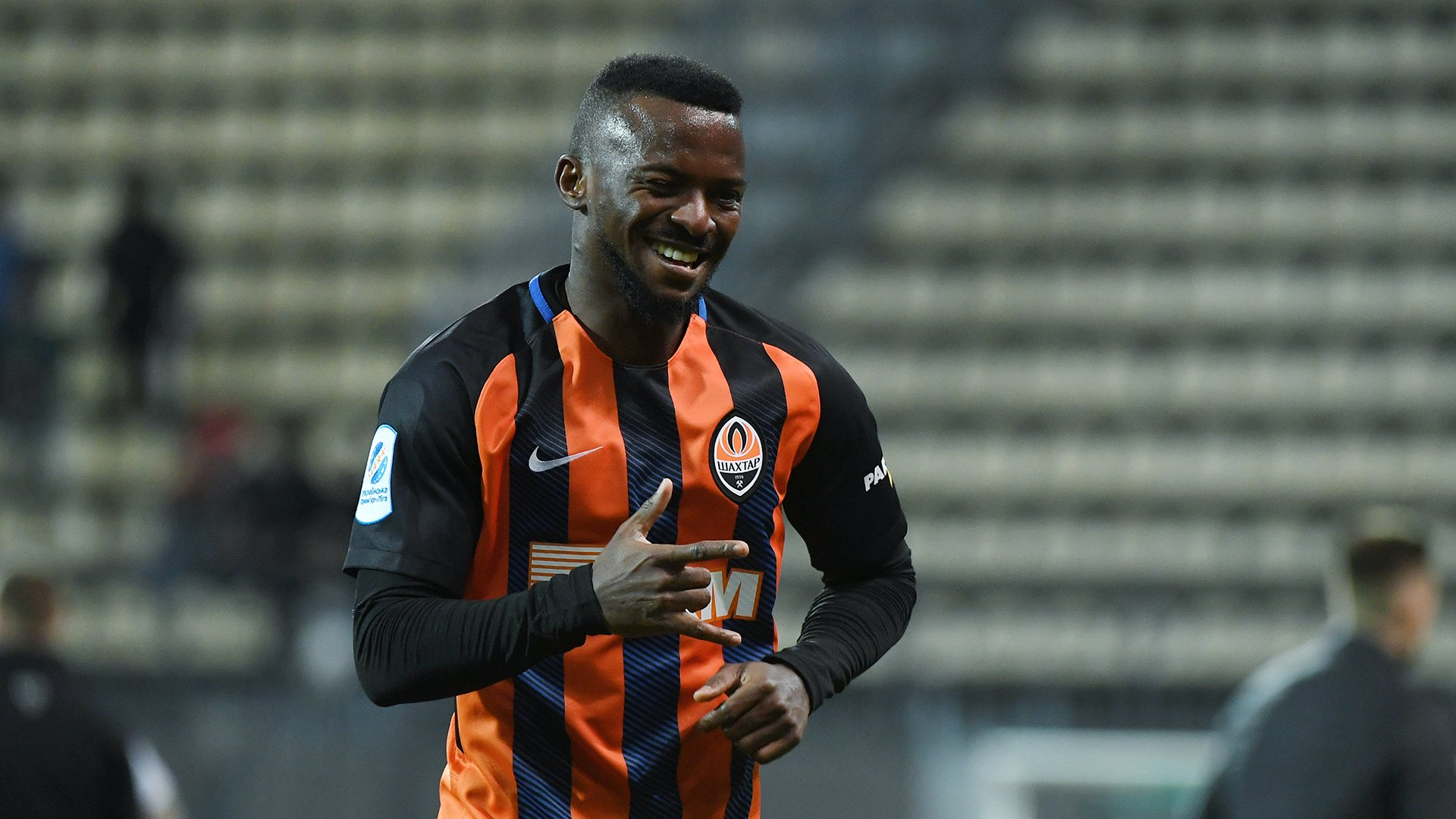 Olarenwaju Kayode shrugs off injury, back in training with Shakhtar Donetsk
