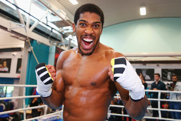 Anthony Joshua challenges Deontay Wilder to April showdown