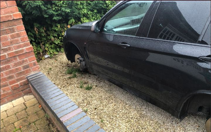 Wolves star Ryan Bennett wakes up to find Tyres stolen from his £60,000 BMW