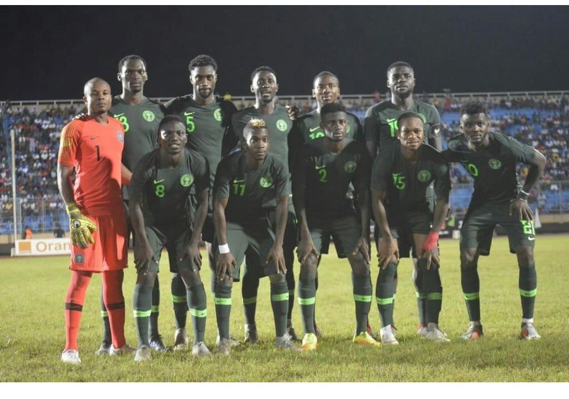 Erico sure of Eagles AFCON group stage qualification